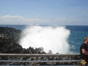 Waterblow, Bali