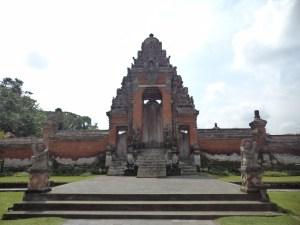 Entrance to Royal Palace Temple, Bali