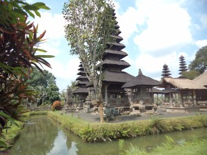 Beautiful Taman Ayun Temple or Royal Temple in Bali