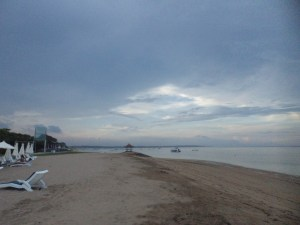 Beach at Grand Mirage Resort, Tanjung Benoa, Bali