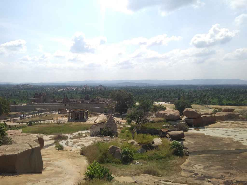 View from Hemakuta Hills