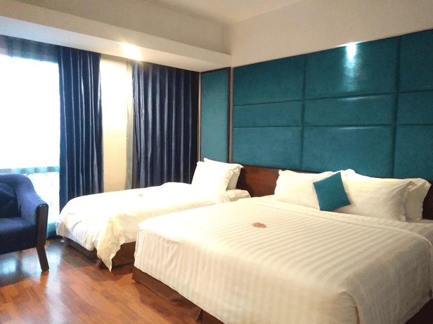 Triple room @ Hanoi Antique Legend Hotel