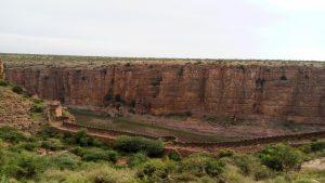 Gandiokota fort wall