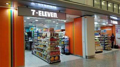 7/11 at Hong Kong airport