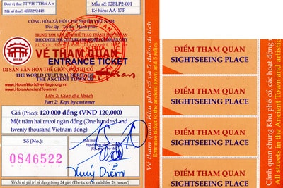 Hoi An Old Town entrance ticket