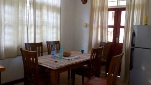 Dining area at La Maison Hibiscus