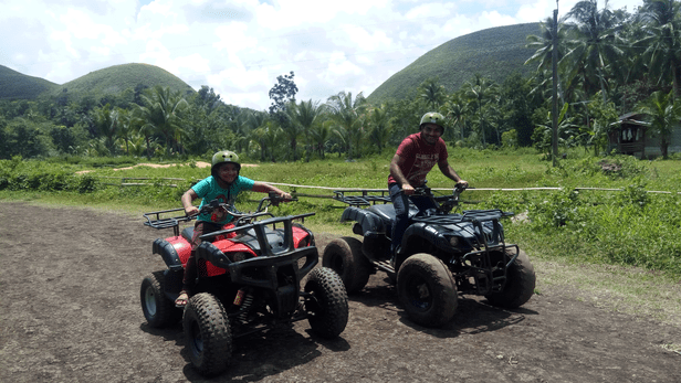 ATV guided tour near CHAP