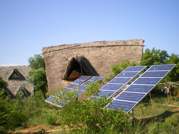 Solar Panels at Sadhana Forest