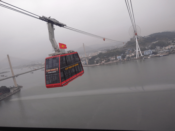 Queen Cable Car, Sunworld, Halong Bay