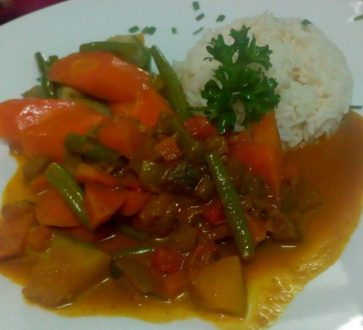 Creole Veg Curry