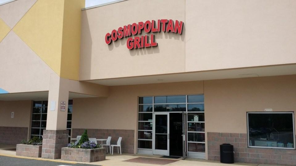 Exterior of Cosmopolitan Grill