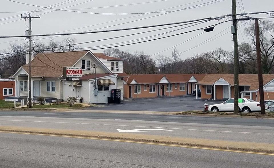 Alexandria Motel on Richmond Highway