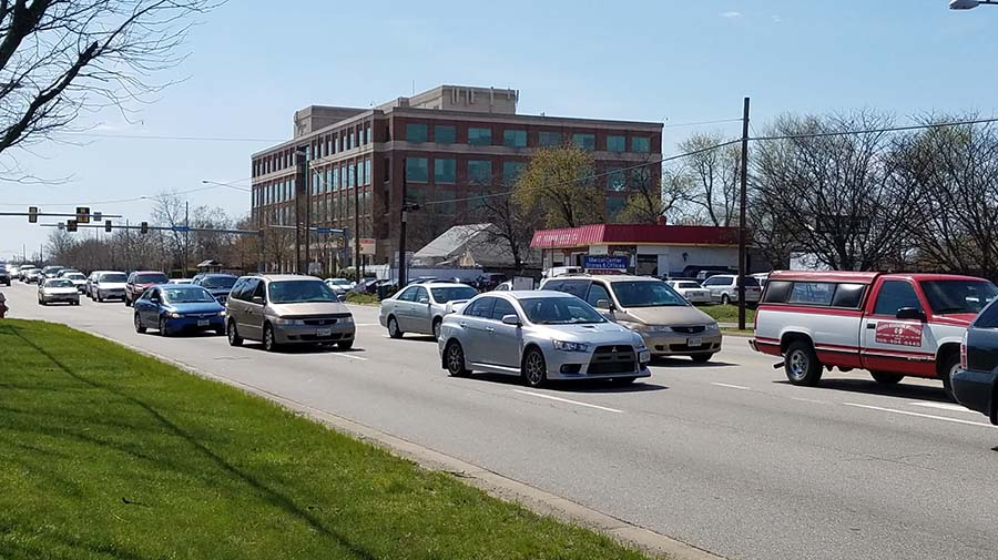 Traffic on Richmond Highway