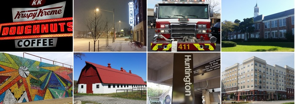 Collage of pictures from Richmond Highway area