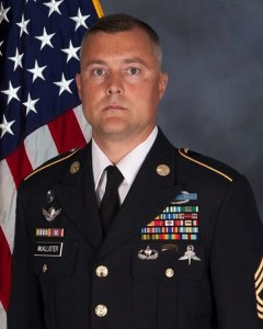 McAllister official Army photo