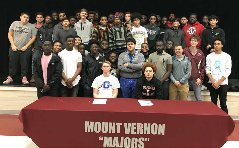 Mount Vernon players