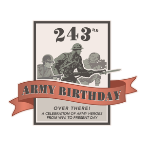 Army birthday poster