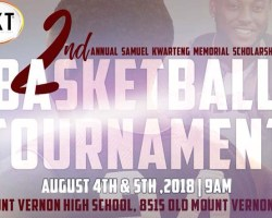 Flyer for tournament