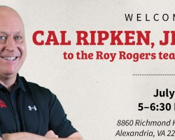Cal Ripken on event flyer