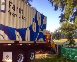 Farm from a Box truck