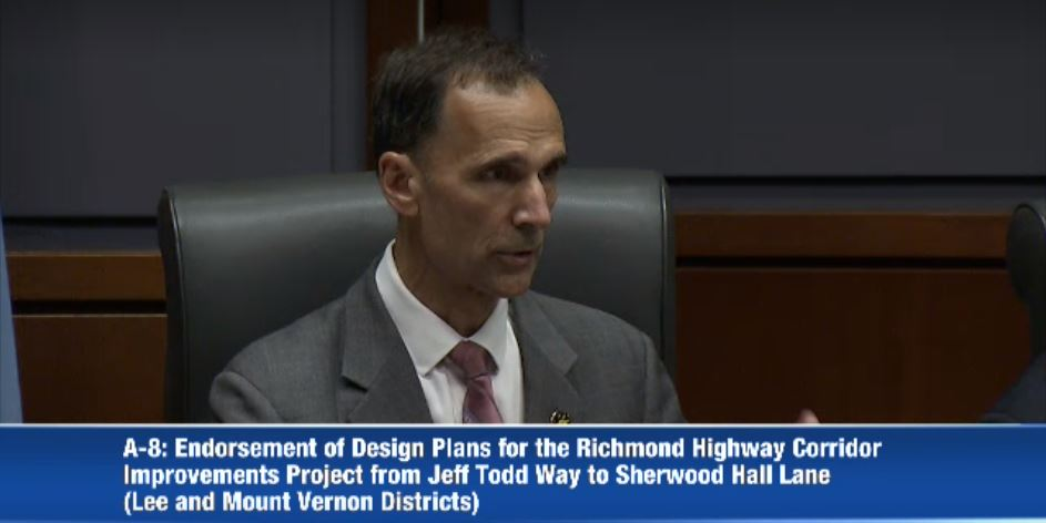 Storck in a screenshot from the meeting