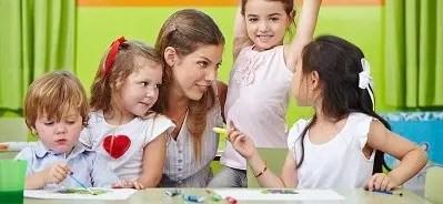 Childcare Caregiver Job Description and Skills Banner