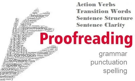 free proofreading cover letters and resume samples