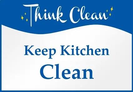 Keep Kitchen Clean Memo Samples | CLR