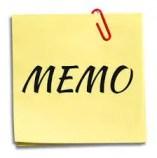 Sample Memo Logo