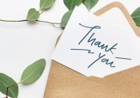Thank You Letters After Telephone Interview