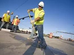 Road Worker on Duty