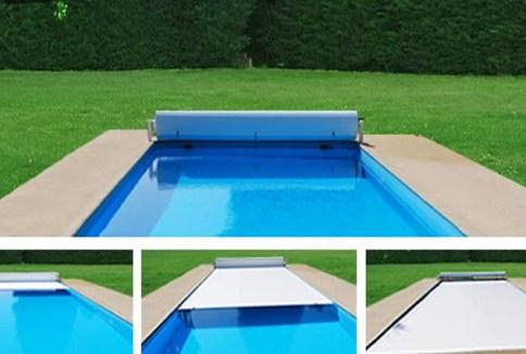 Stores de piscine hors sol