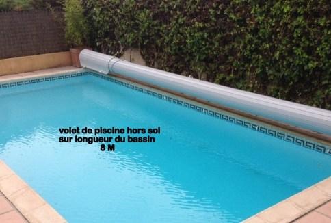 Stores de piscine