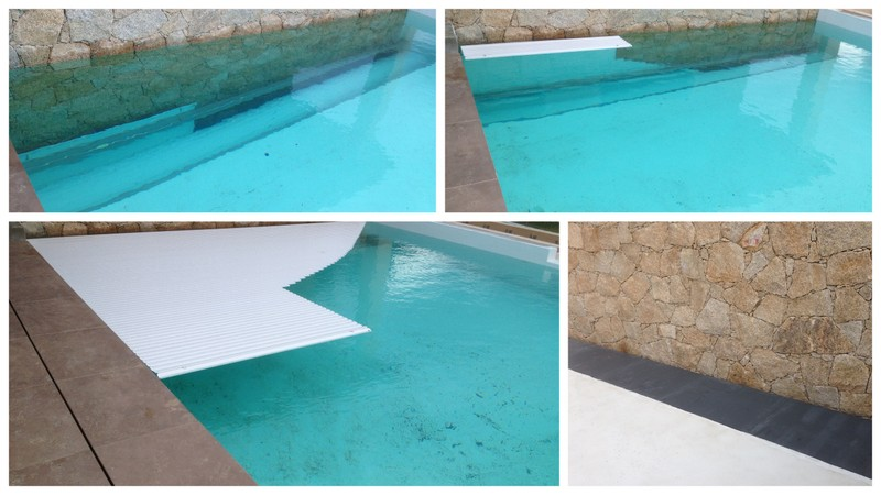 volet de piscine immerg ou couverture en fond de bassin. Black Bedroom Furniture Sets. Home Design Ideas