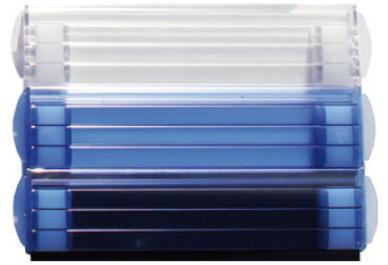 lames solaires en pvc ou polycarbonate