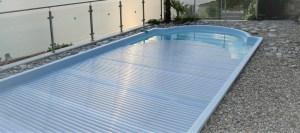 le volet de piscine la sécurité pour votre bassin