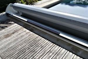 panneau solaire volet mobile sans rails