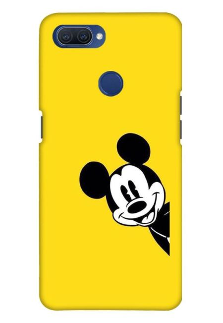 Yellow Mickey Art Mobile Cover For Oppo A11K