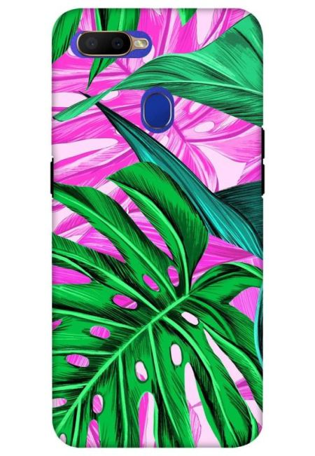 Tropical Design Mobile Cover For Oppo A5S