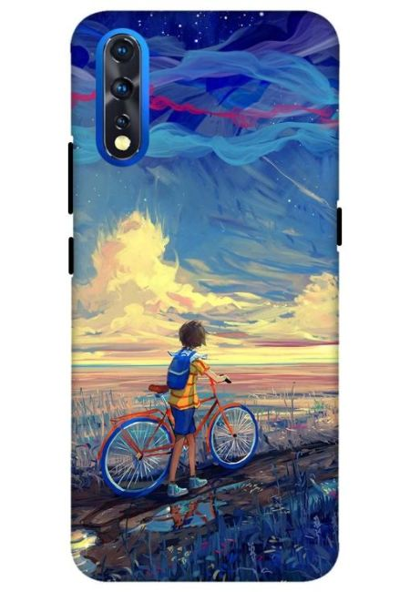 Bicycle Art Mobile Cover For Vivo Z1X