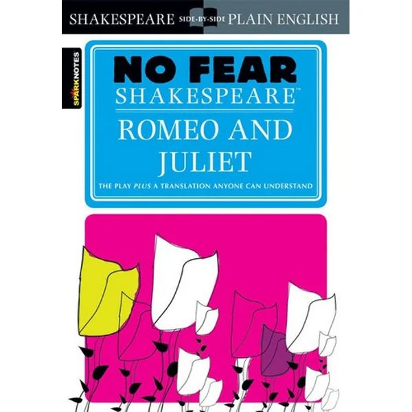 Image result for No Fear Shakespeare Romeo and juliet illustration