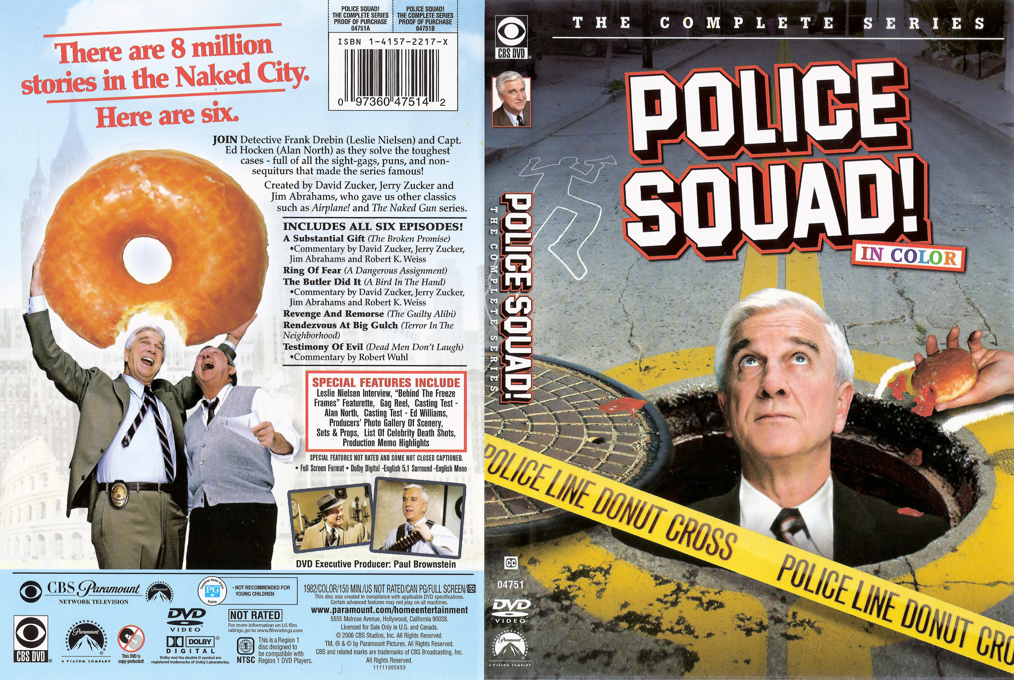 Police Squad! DVD Cover
