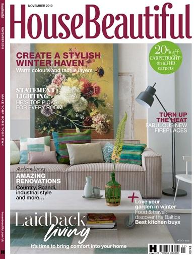 House Beautiful Magazine Nov 2019 Subscriptions Pocketmags