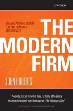 The Modern Firm, John Roberts, Toby Elwin, influence