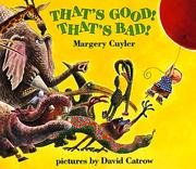 That's Good! That's Bad! (An Owlet Book)