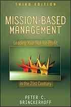 Mission-based management