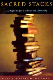 Sacred Stacks by Nancy Maxwell