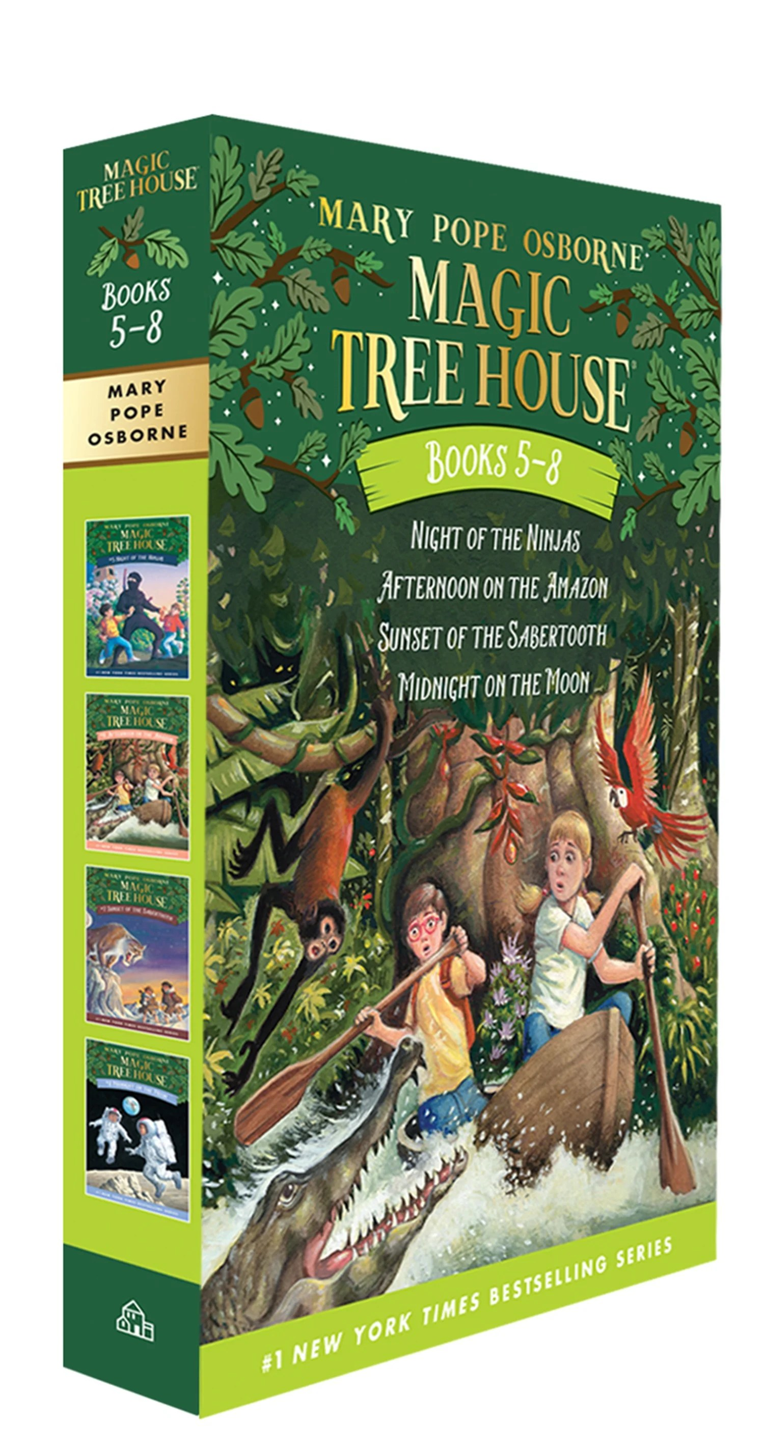 Magic Tree House Volumes 5 8 Boxed Set By Mary Pope