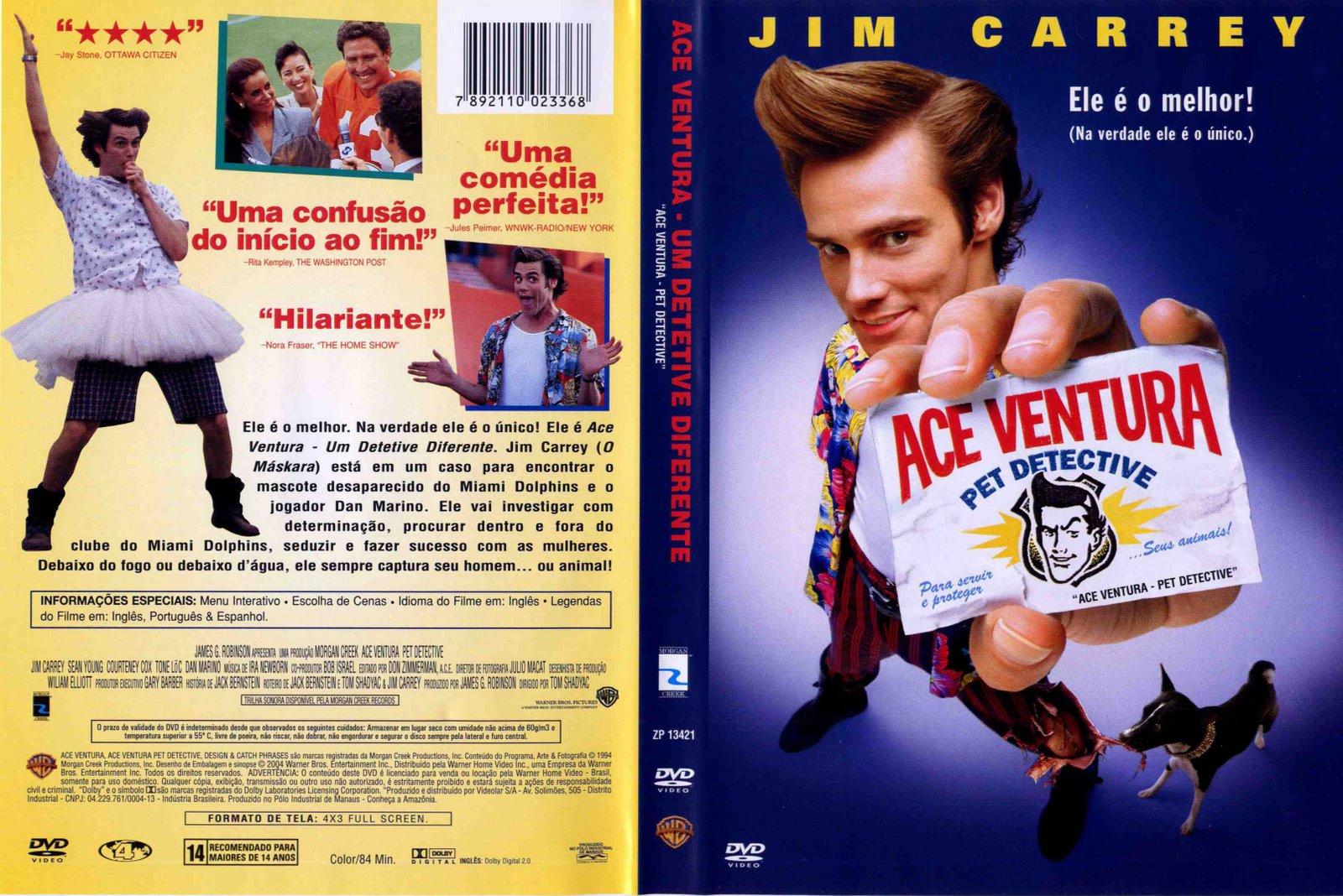 Poster do filme Ace Ventura: Um Detetive Diferente