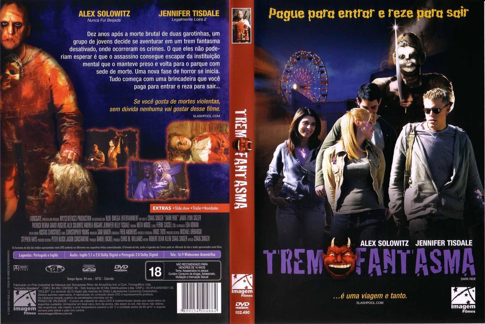 Poster do filme Trem Fantasma